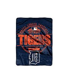 Detroit Tigers Micro Raschel Structure Blanket