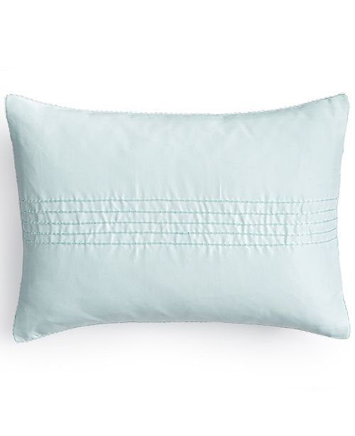 "Calvin Klein 12"" x 16"" Bead Strand Decorative Pillow"
