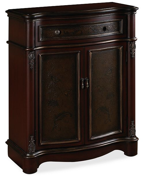 Furniture Home Meridian Harriman Accent Chest, Direct Ship