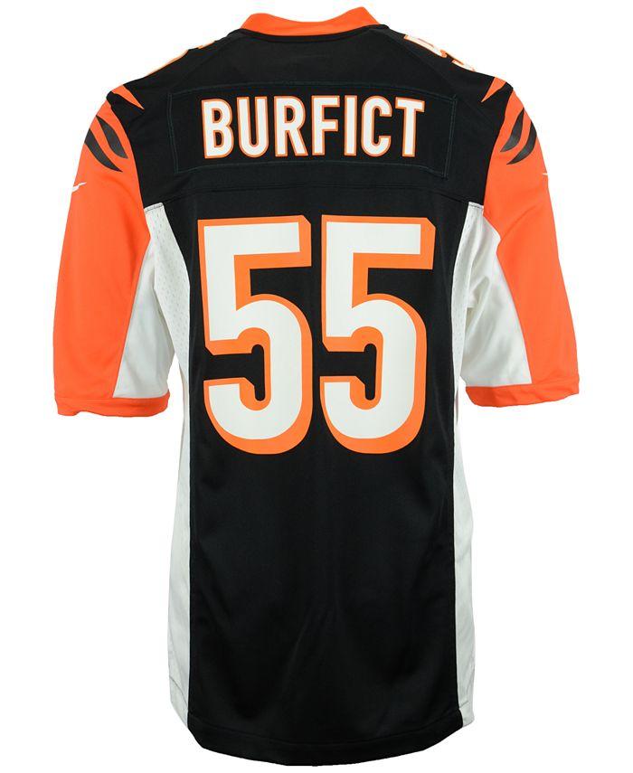 Nike Men's Vontaze Burfict Cincinnati Bengals Game Jersey ...