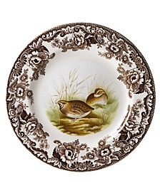 Woodland by Quail Dinner Plate