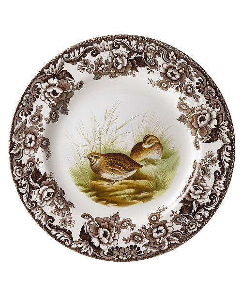 Spode Woodland by Quail Salad Plate