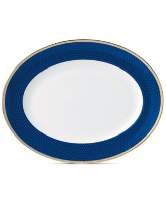 Hibiscus Oval Platter