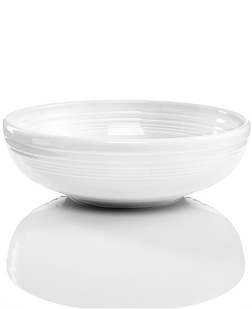 Fiesta White 68 oz. large Bistro Bowl
