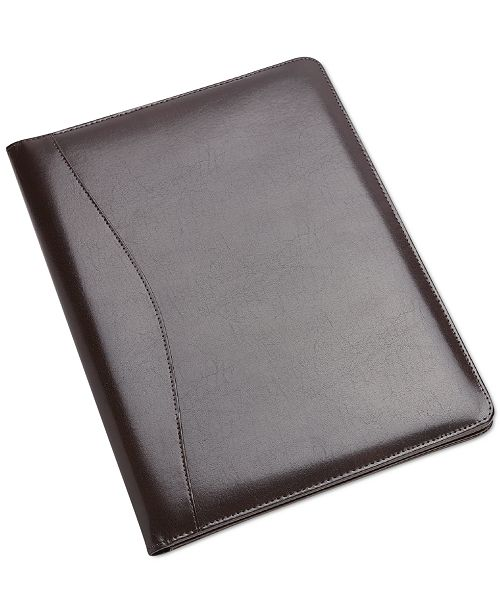 Royce Leather Royce New York Executive Writing Portfolio Organizer