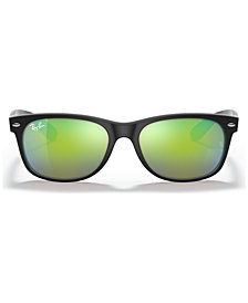 Ray-Ban NEW WAYFARER MIRRORED Sunglasses, RB2132 55