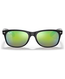 Ray-Ban Sunglasses, RB2132 NEW WAYFARER FLASH