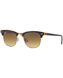 Ray-Ban Sunglasses, RB3016 49 CLUBMASTER