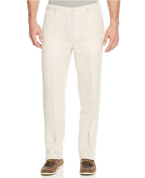 b3135b091f Tommy Bahama Men's New Linen On The Beach Pants & Reviews ...