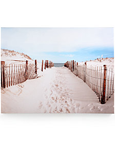 Graham & Brown Walk to the Beach Canvas Print
