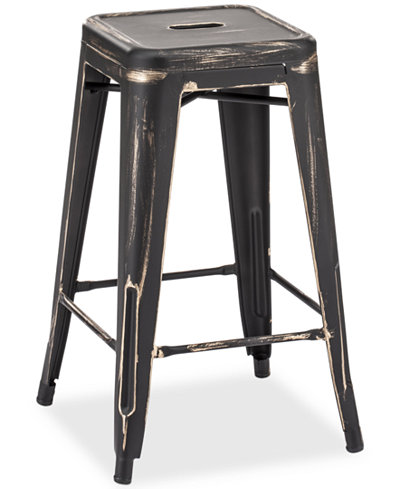 Walker Set of 2 Counter Stools, Quick Ship