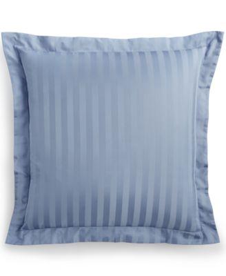 CLOSEOUT! Stripe European Sham, 500 Thread Count 100% Pima Cotton, Created for Macy's