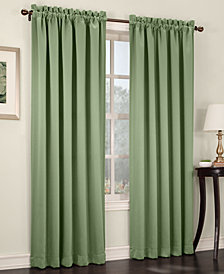 "Sun Zero Grant Room Darkening Pole Top 54"" x 63"" Curtain Panel"