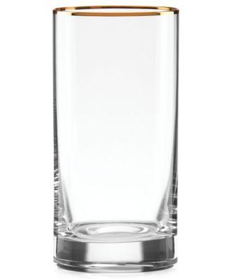 Timeless Gold Highball Glass