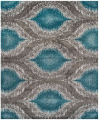 """Neo Grey Cove Teal 9'6"""" x 13'2"""" Area Rug"""