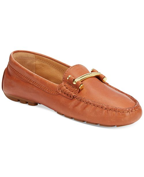 67588523f6c Lauren Ralph Lauren Women s Caliana Driver Moccasins   Reviews ...