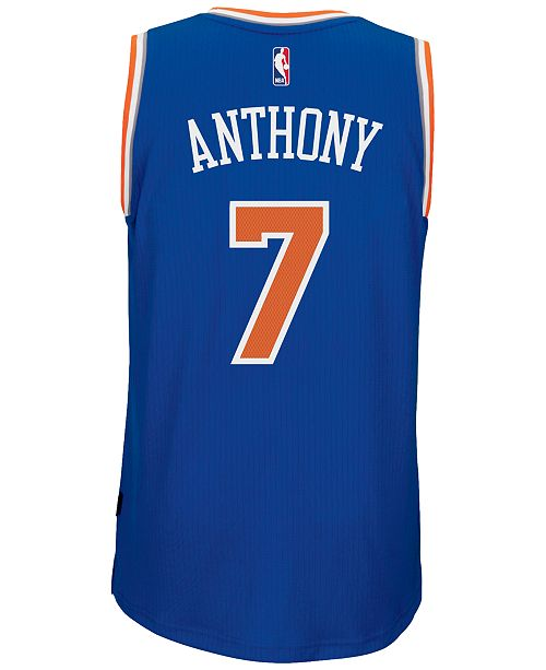 c7494731e adidas Men s Carmelo Anthony New York Knicks Swingman Jersey ...