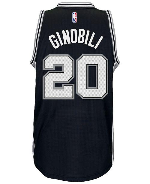 the latest c7e32 6cf37 adidas Men's Manu Ginobili San Antonio Spurs Swingman Jersey ...
