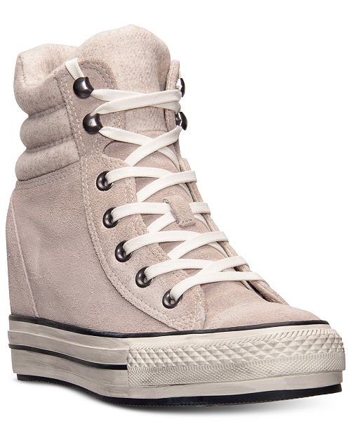 b51ce3fe850 ... Converse Women s Chuck Taylor All Star Platform Plus Hi Casual Sneakers  from Finish ...
