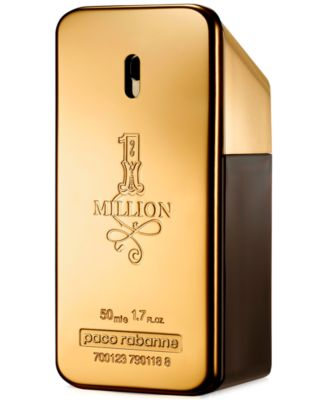 Paco Rabanne 1 Million Eau De Toilette Fragrance Collection For Men