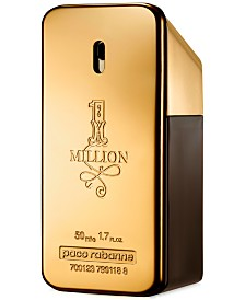 Paco Rabanne Men's 1 Million Eau de Toilette Spray, 1.7 oz.