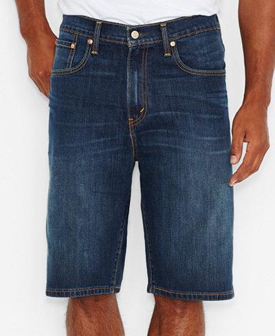 Levi's® Men's Big & Tall 569™ Loose Fit Denim Shorts - Shorts ...