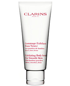 Clarins Exfoliating Body Scrub for Smooth Skin, 6.8 oz