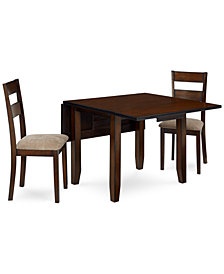 Branton 3-Piece Set, Table & 2 Chairs