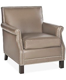 Benson Faux Leather Accent Chair