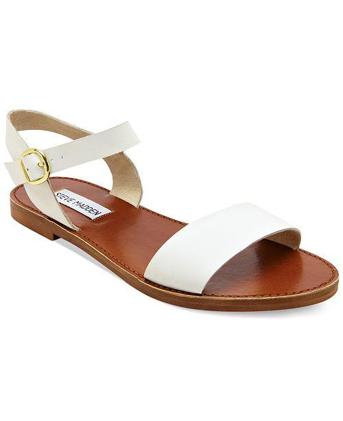 Steve Madden Donddi Flat Sandals   Reviews - Sandals   Flip Flops ...
