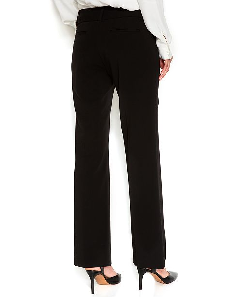 4863c4a7ef99 Alfani Curvy-Fit Slimming Bootcut Pants, Created for Macy's ...