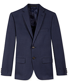 Lauren Ralph Lauren Blue Jacket, Big Boys Husky