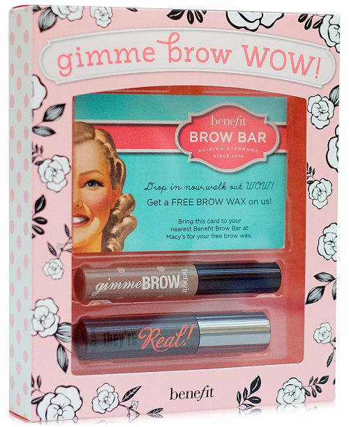 Benefit Cosmetics gimme brow wow set - A Macy's Exclusive