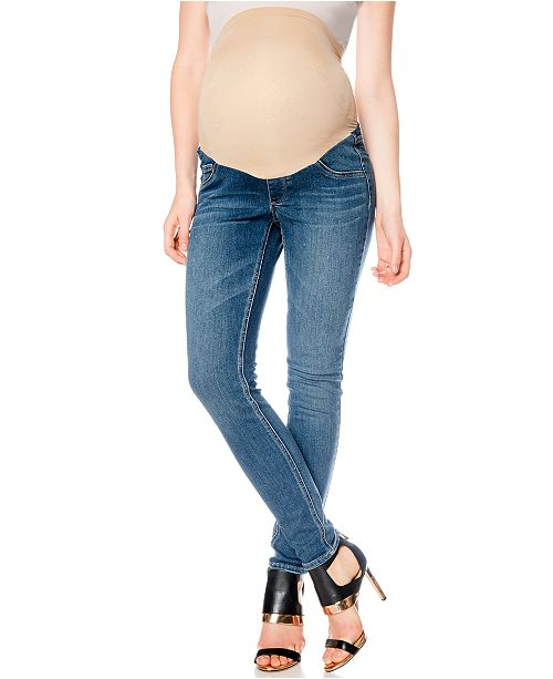 b251798a8ad50 Jessica Simpson Maternity Skinny Jeans, Medium Wash & Reviews ...