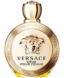 Eros Pour Femme Eau de Parfum Spray, 3.4 oz