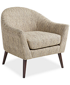 Collin Fabric Accent Chair, Quick Ship