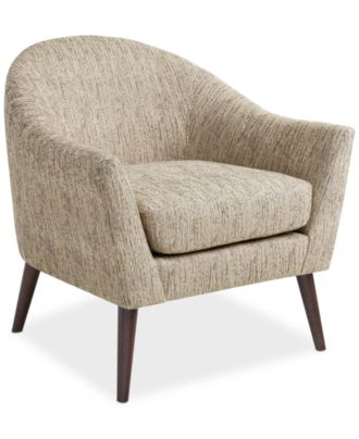 JLA Collin Fabric Accent Chair, Direct Ship