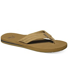 Quiksilver Men's Carver Suede Thong Sandals