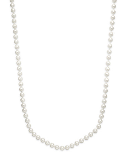 Charter Club Imitation Pearl 72 Inch Long Strand Necklace