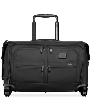 Alpha 2 Wheeled 22-Inch Carry-On Garment Bag - Black