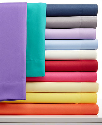 Closeout Solid Microfiber Sheet Sets Sheets Bed