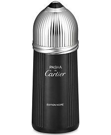 Cartier Men's Pasha de Cartier Edition Noire Eau de Toilette Spray, 5.1 oz.
