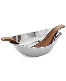 Nambe Drift Large Serving Bowl