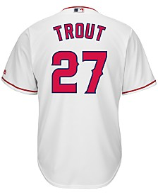 Majestic Men's Mike Trout Los Angeles Angels of Anaheim Replica Jersey