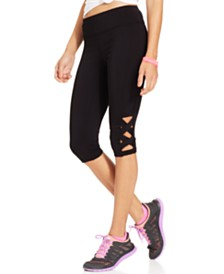 Material Girl Juniors' Active Capri Leggings