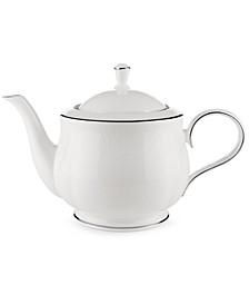 Hannah Platinum Teapot