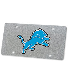 Stockdale Detroit Lions Glitter License Plate