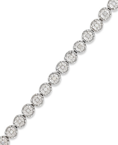 Diamond Tennis Necklace Macy S