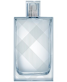 Burberry Mens' Brit Splash Eau de Toilette, 3.4 oz