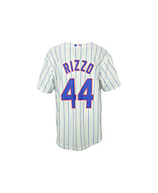 Majestic Anthony Rizzo Chicago Cubs Replica Jersey, Big Boys (8-20)